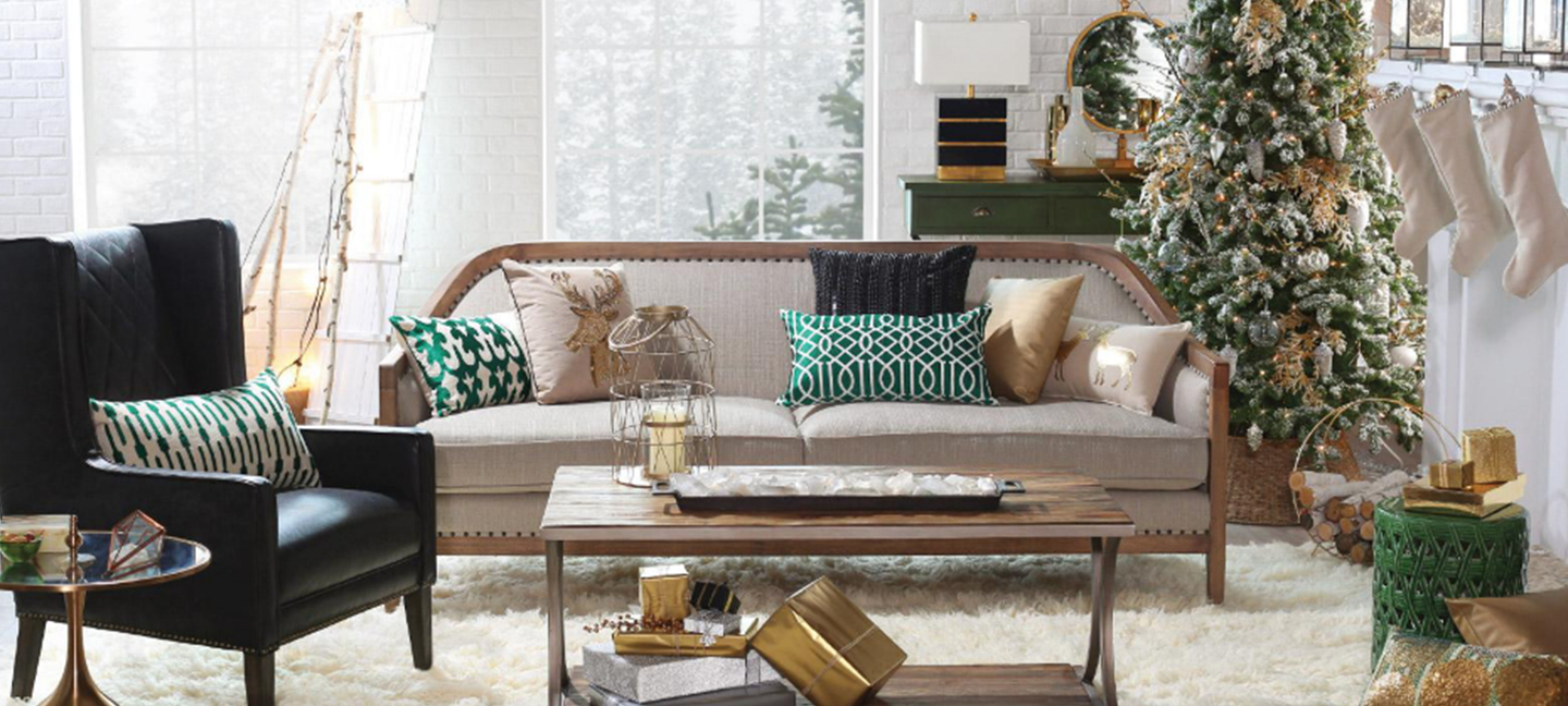 Holiday Living Room Photoshoot